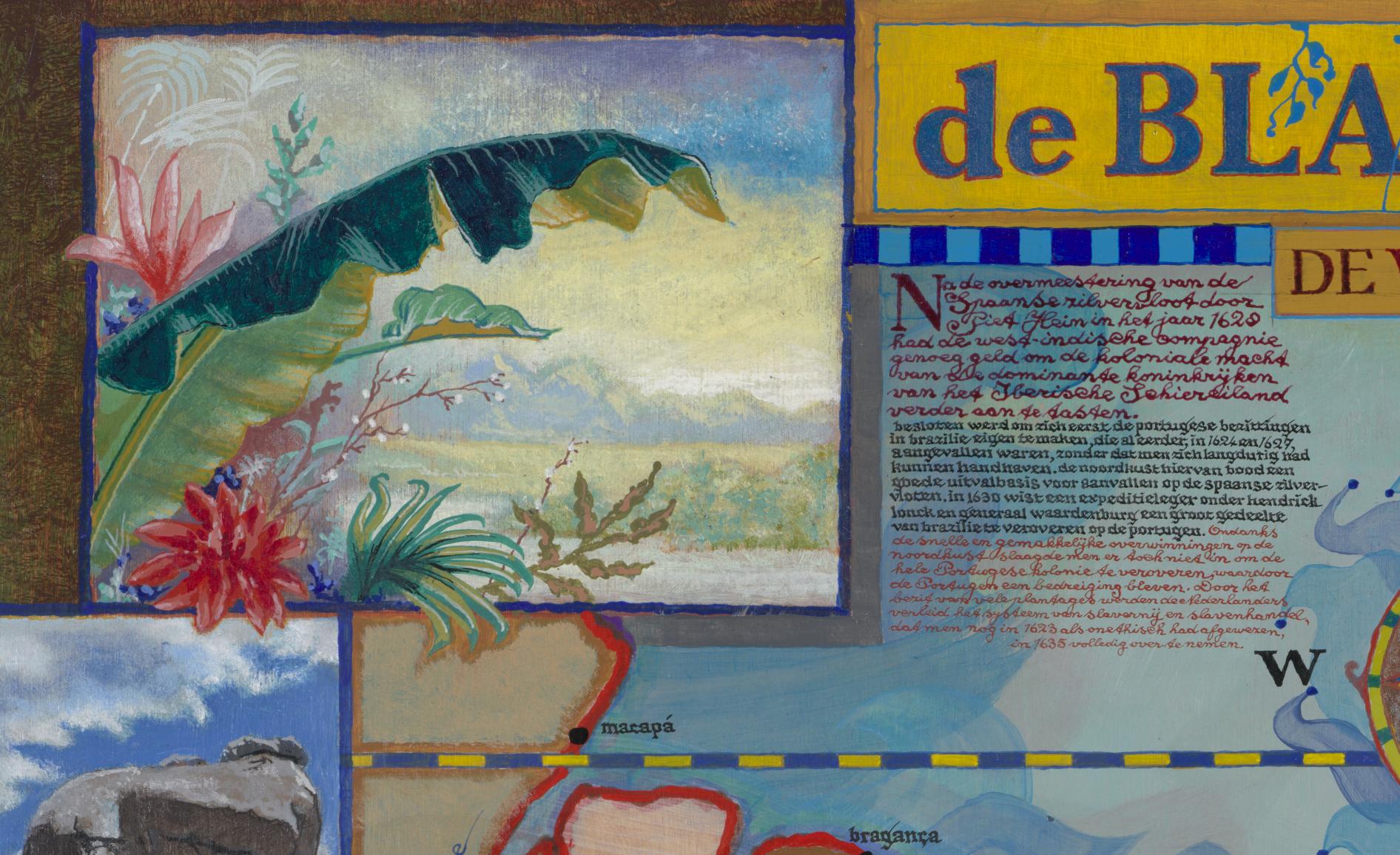 Huibert van Dorp detail schilderij